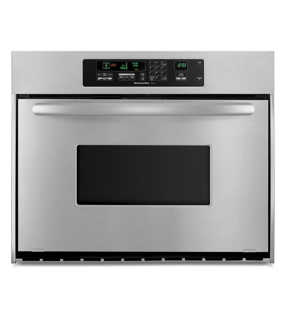 KitchenAid® 36 Inch Convection Single Wall Oven, Architect® Series II  Handle (