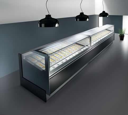 refrigerated omcan price countertop bottom sale display itm long curved countertops case glass