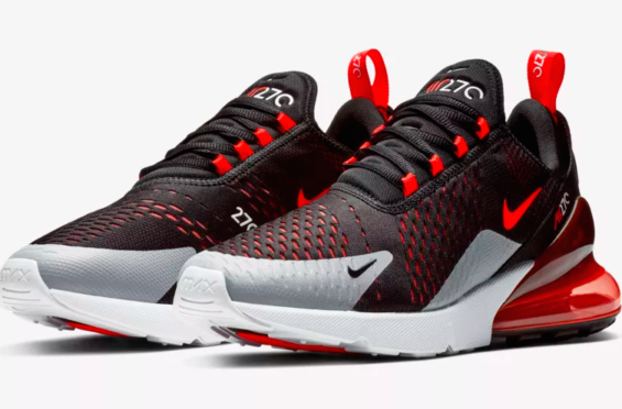 c67b2547c Look For The Nike Air Max 270 Black Hyper Crimson Now The Nike Air Max 270