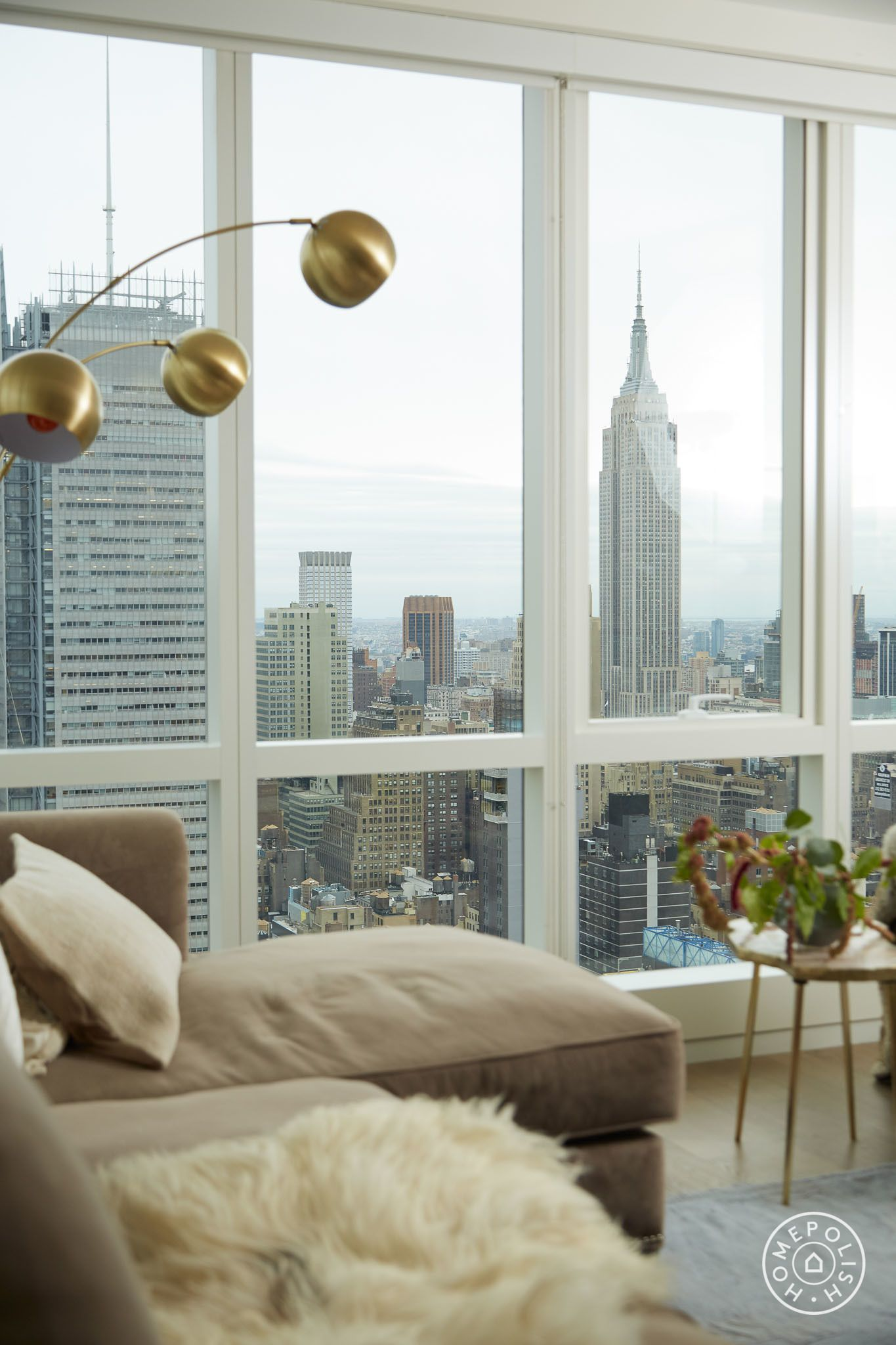 Hamilton actress lexi lawsons living room by homepolish designer amy row