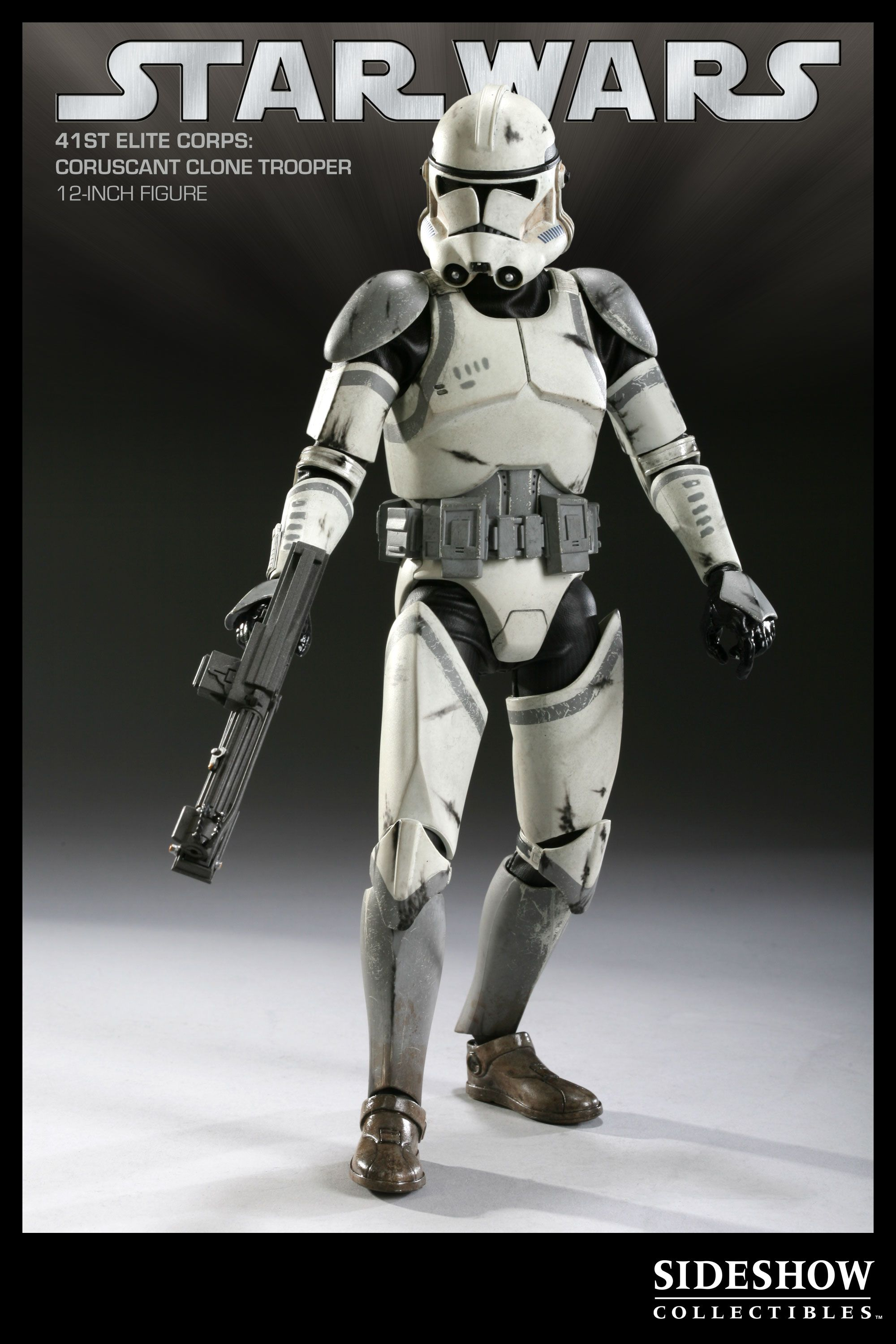 Sixth Scale Figure Coruscant Clone Trooper 2161 With Images