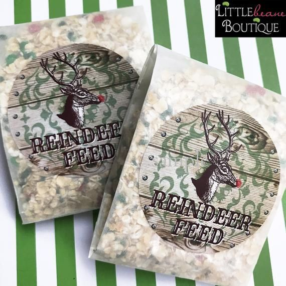 Reindeer Food Stickers, Reindeer Feed Station, Woodland Christmas Labels, Rustic Christmas, deer stickers, Wood burning #burnedwoodstenciling Reindeer Feed Stickers, Station, Woodland Christmas Labels, Rustic Christmas, deer stickers, Wood burning ,Wood stencil, labels #burnedwoodstenciling