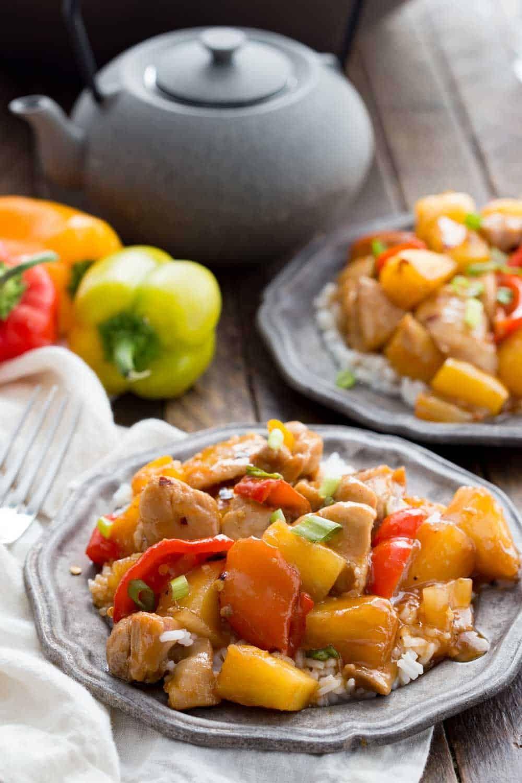 Pineapple Firecracker Chicken Recipe Savory dinner
