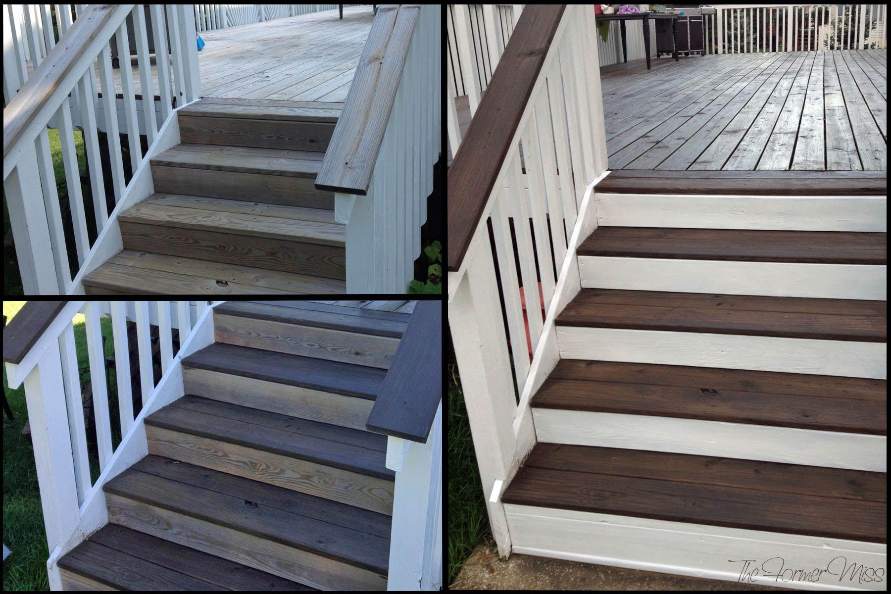 Best A Deck Makeover… Part 2 Deck Makeover Building A Deck 400 x 300