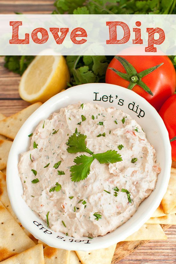 Love Dip - Easy Appetizer Recipe You'll love this love dip recipe this summer! One taste of this sa