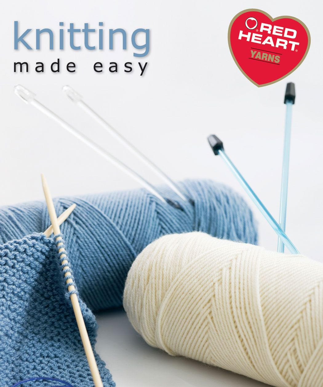 RedHeartYarns® Free eBook Knitting Made Easy Instruction & Pattern ...