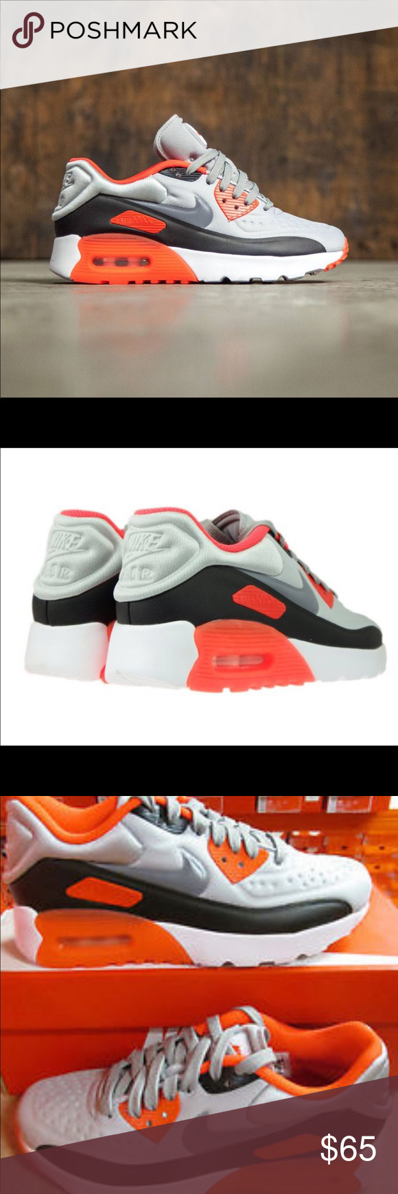 quality design 3a0d3 5a41b Nike Air Max 90 Ultra SE (GS) Youth Size 4Y W 5.5 Nike Air Max 90 Ultra SE ( GS) Youth Size 4Y Women Size 5.5 New with Box Shoes Sneakers