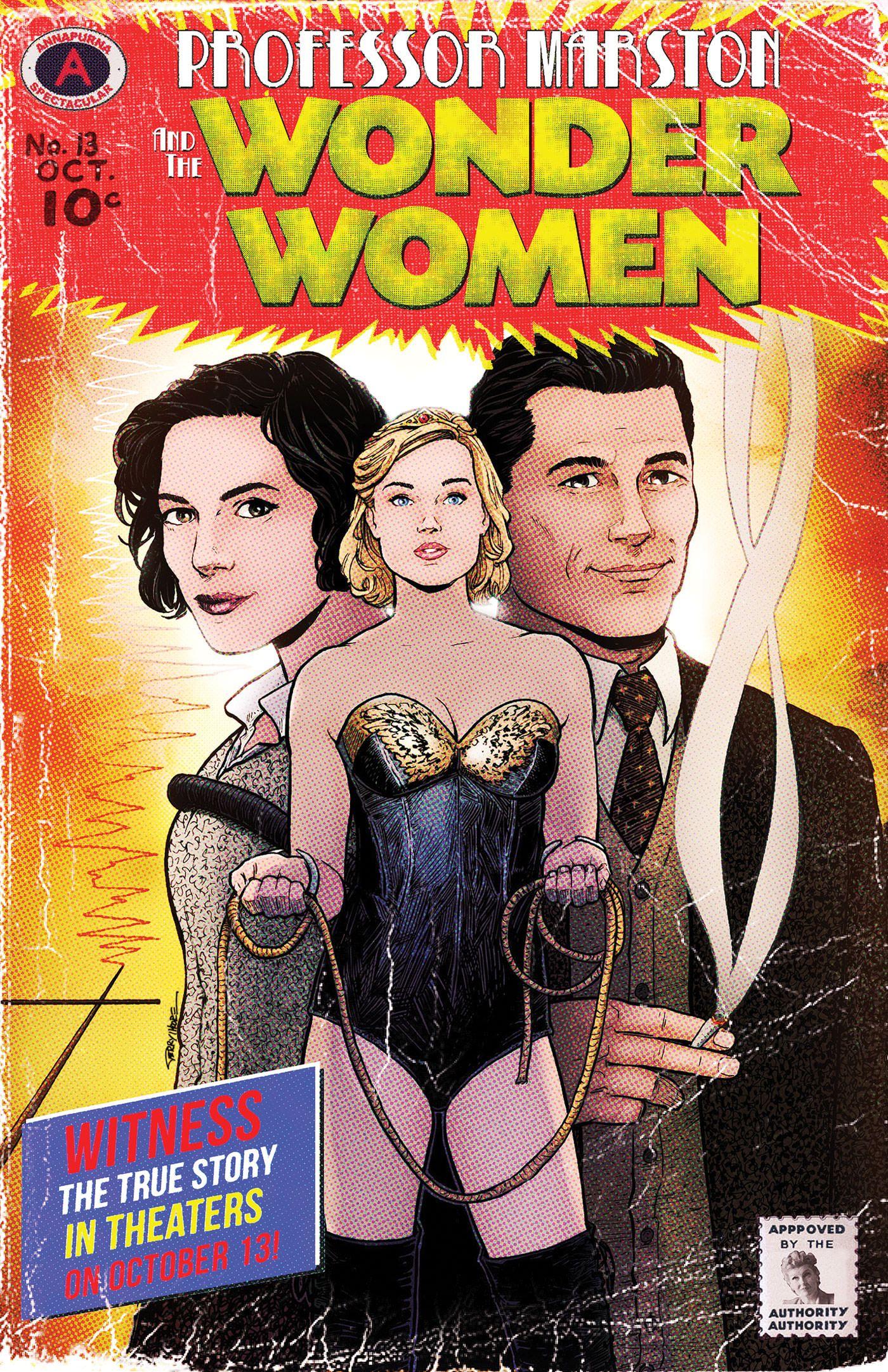 Professor Marston And The Wonder Women New Trailer And Poster Https Teaser Trailer Com Movie Professor Marsto Wonder Woman Comic Wonder Woman New Poster
