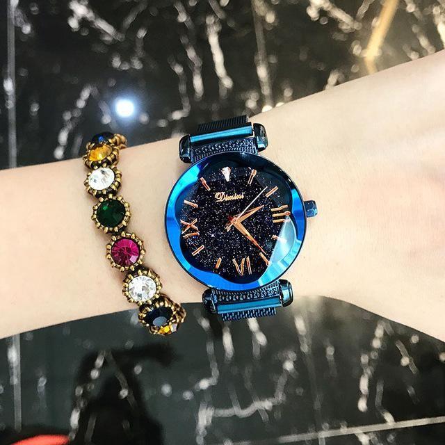 11c86d114 2018 Roman Women Watches Luxury Brand Crystal Quartz Watch Magnet #watches