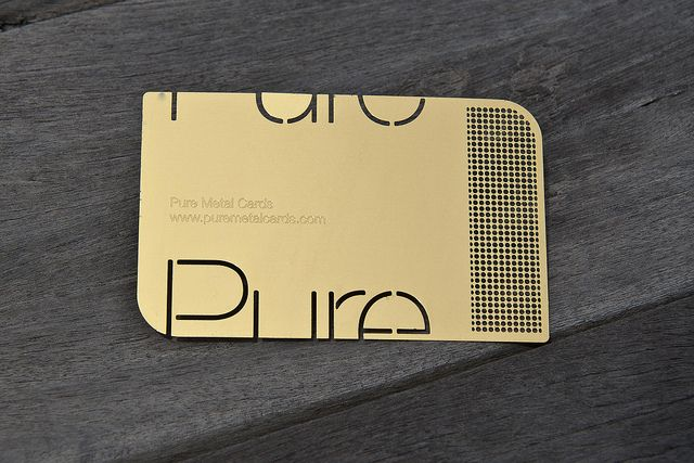 Why a Well Designed metal Business Card is Essential