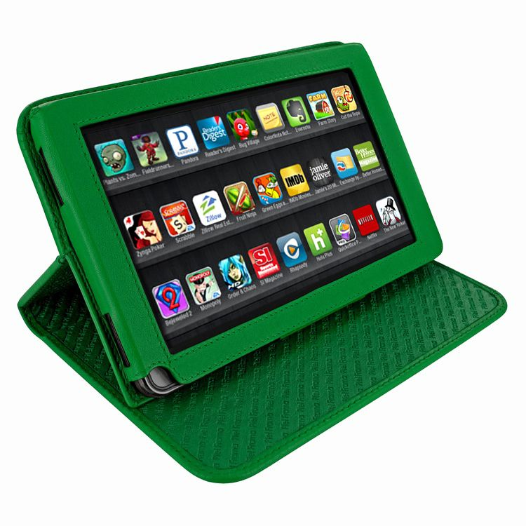 Piel Frama 570 Green Cinema Leather Case for Amazon Kindle Fire