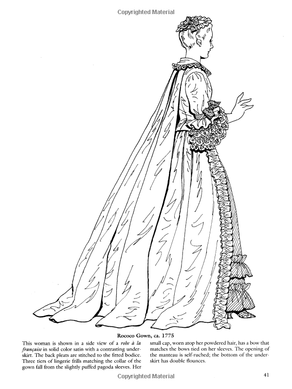 French Baroque And Rococo Fashions Dover Fashion Coloring Book Amazon Co Uk Tom Tierney 9780486423838 Books Fashion Coloring Book Color Colorful Fashion