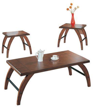 Ensemble de trois tables à café valerie au walmart ca magasinez en ligne et