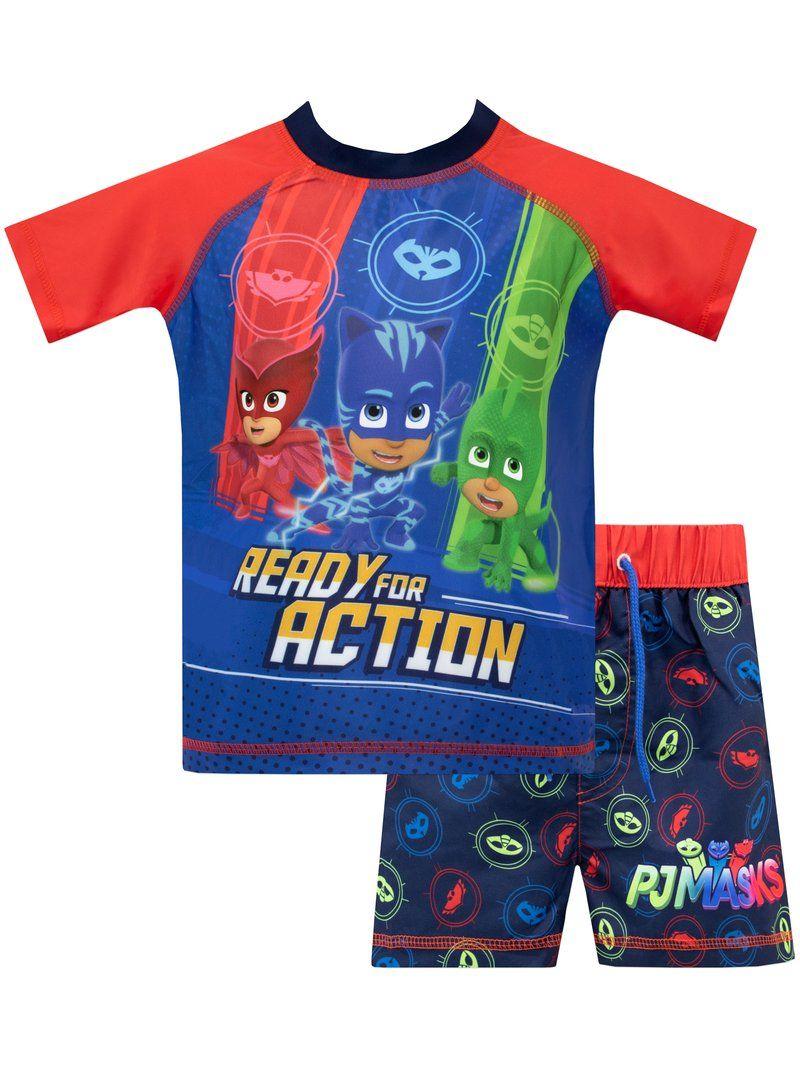 Official Boys Disney Character Pyjama Sets Spiderman Hulk Mickey Mouse PJ Masks
