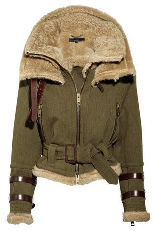 1000  images about Shearling on Pinterest | Aviator jackets The