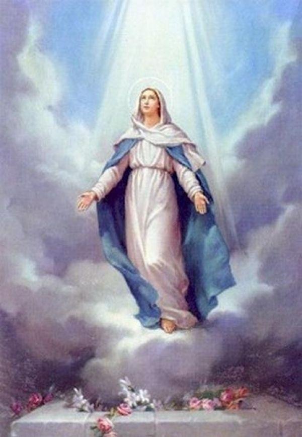 Resultado de imagen de María asunta al Cielo