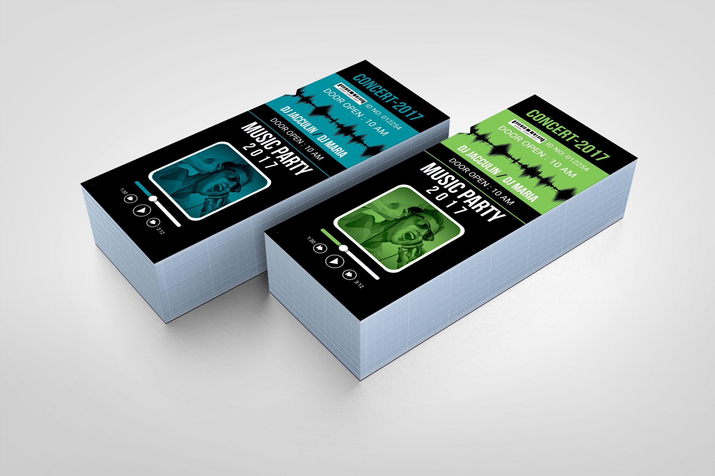 Vertical Event Ticket Design Graphic Templates Ticket Design Template Ticket Design Event Tickets Design