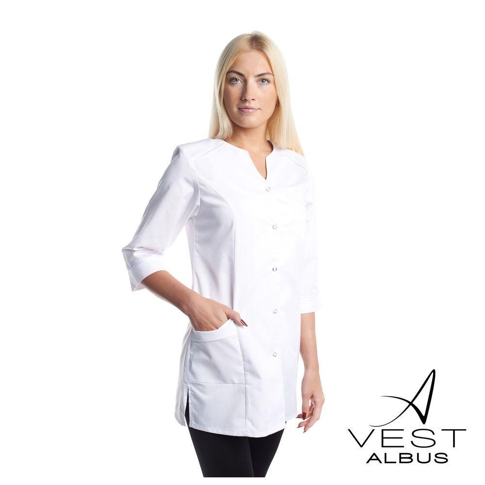Lab Coat Medical White Womens Pharmacist Stylish Nurse Scrubs Doctor ...