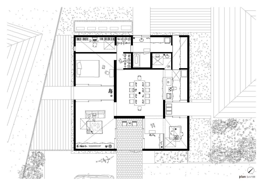 Gallery Of House Yagiyama Kazuya Saito Architects 11 Architecture Plan Architect House How To Plan