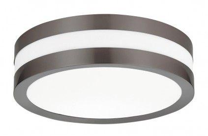 Deckenle Industriedesign rabalux stuttgart außen deckenleuchte 2x e27 anthrazit rund 285mm