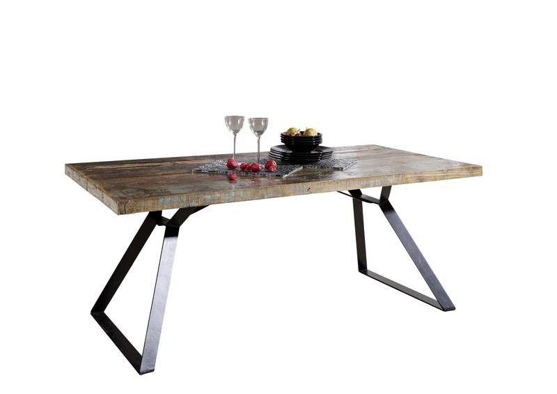 Wohnzimmertisch Industrial ~ Tisch industrial altholz lackiert  moebel