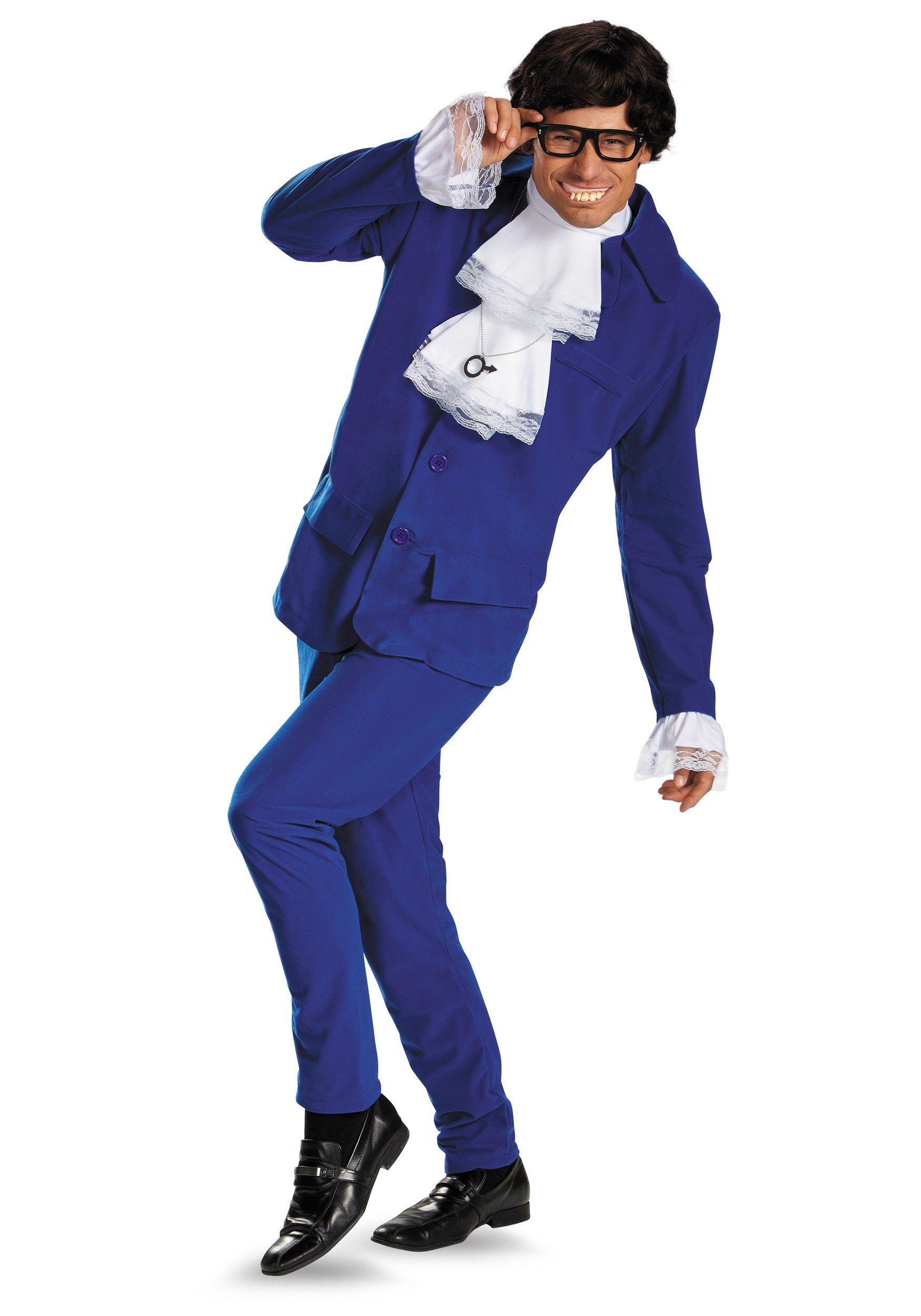 Deluxe Mens Austin Powers Plus Size Costume | Austin powers ...