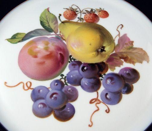 Meissen Cobalt Fruit Plate 2