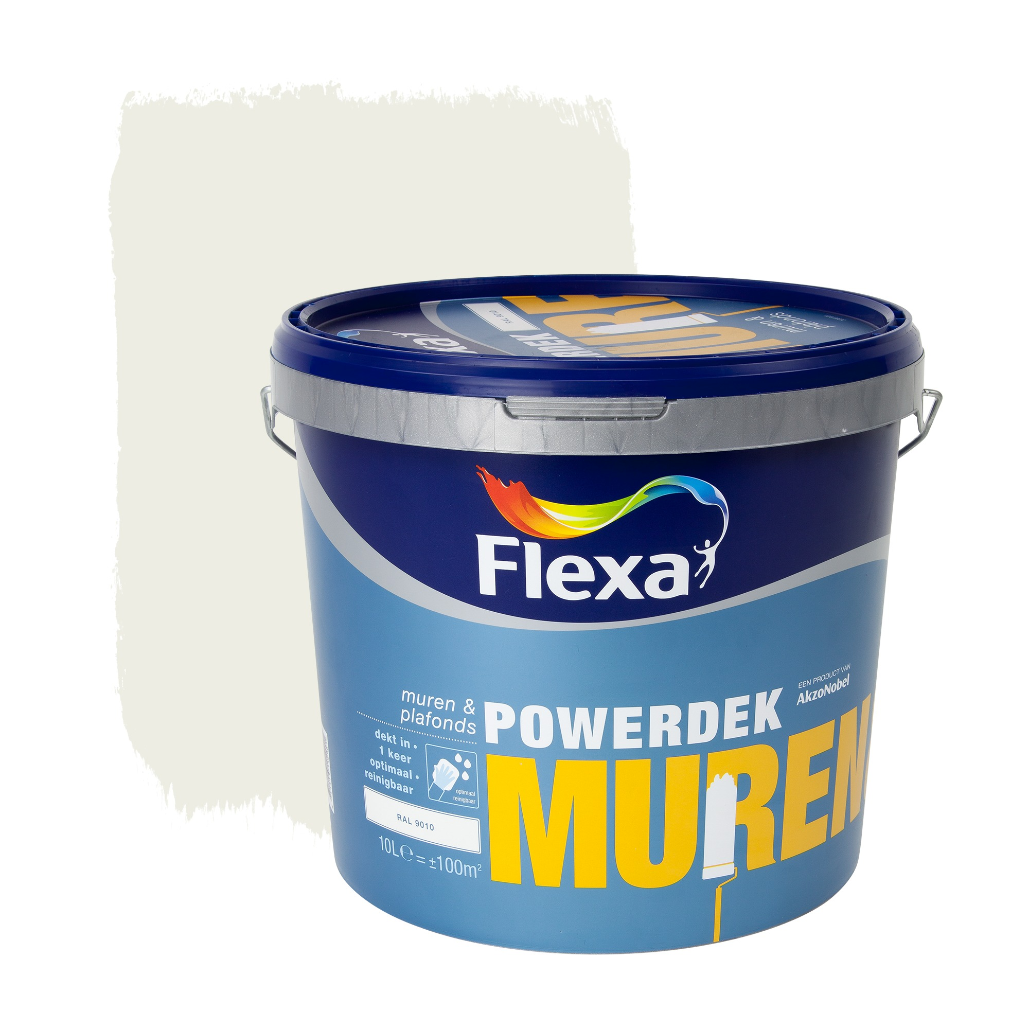 Latex Ral 9010 Flexa Powerdek 10l Ral9010 M P In 2019 Products Mat 10 Latex