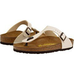 Birkenstock Gizeh Birko Flor Style No 943873 Unisex Sandals Pearl White Graceful Birkoflor Eu 35 Narrow Wid Birkenstock Birkenstock Gizeh Fashion Sandals