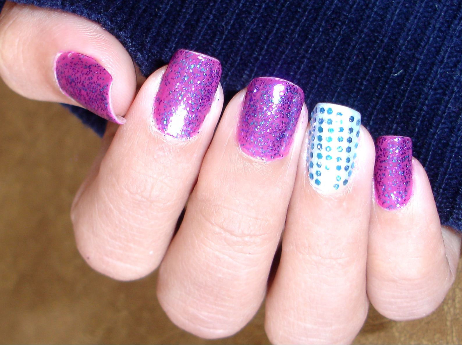 Shing ♥: NOTW: Amethyst Nails