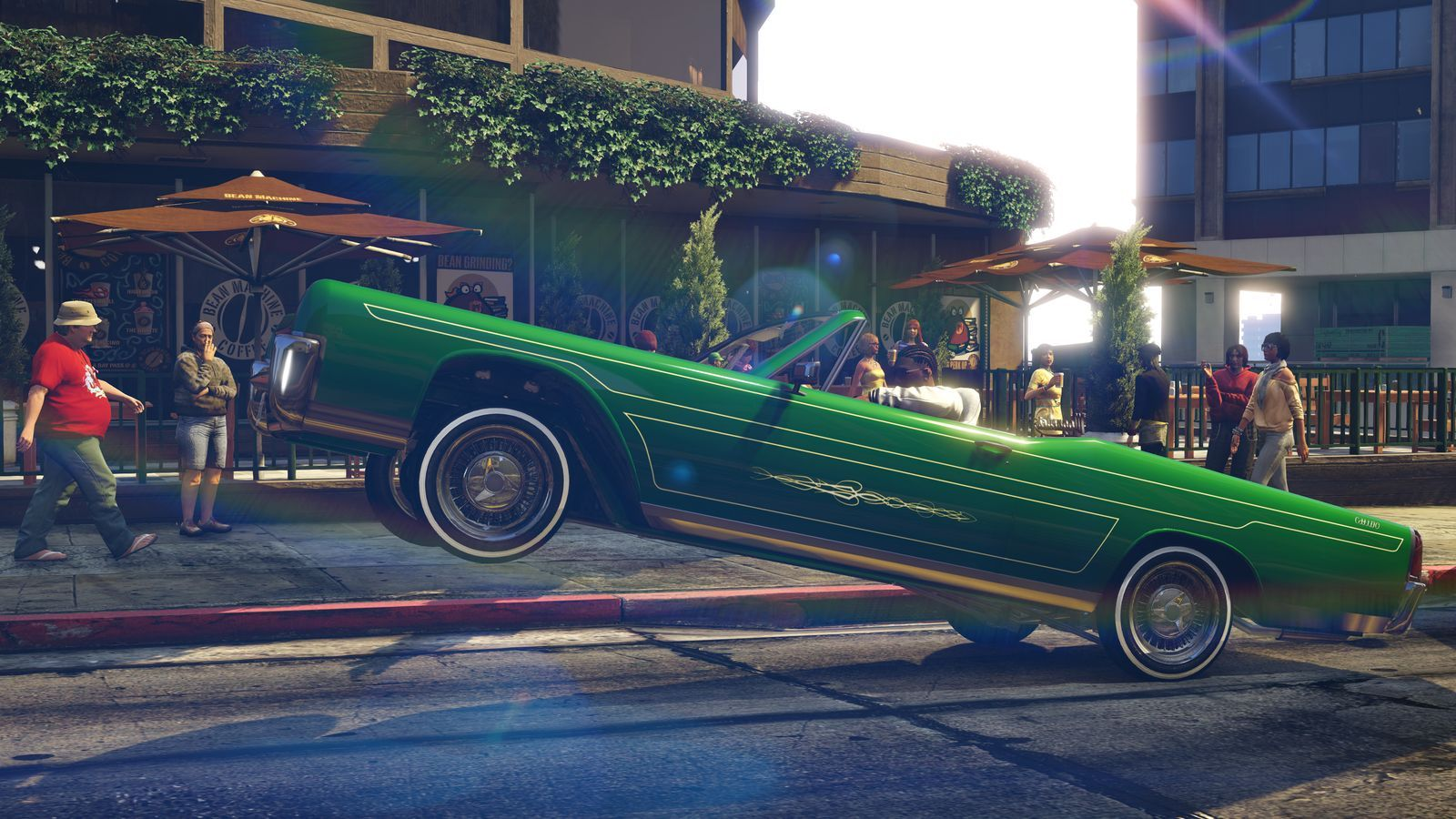 You can finally drive a lowrider in Grand Theft Auto