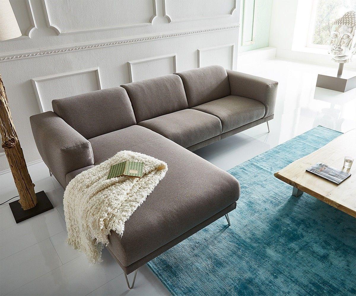 Elegant Ecksofa Lordina 260x185 Grau Ottomane Links Premium Möbel Sofas Ecksofa  Googlen Für Besten Preis!