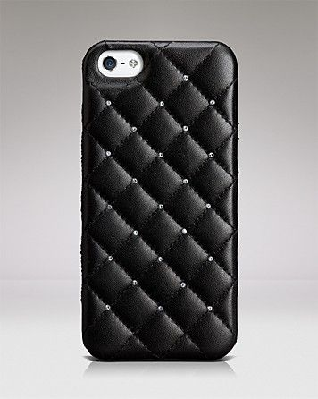 d9fa68ec5e CaseMate iPhone 5 Case - Madison Leather and Crystal | Bloomingdale's