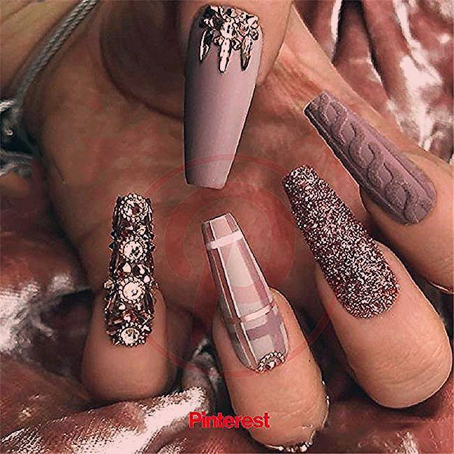 Coffin Nails Ideas Nails