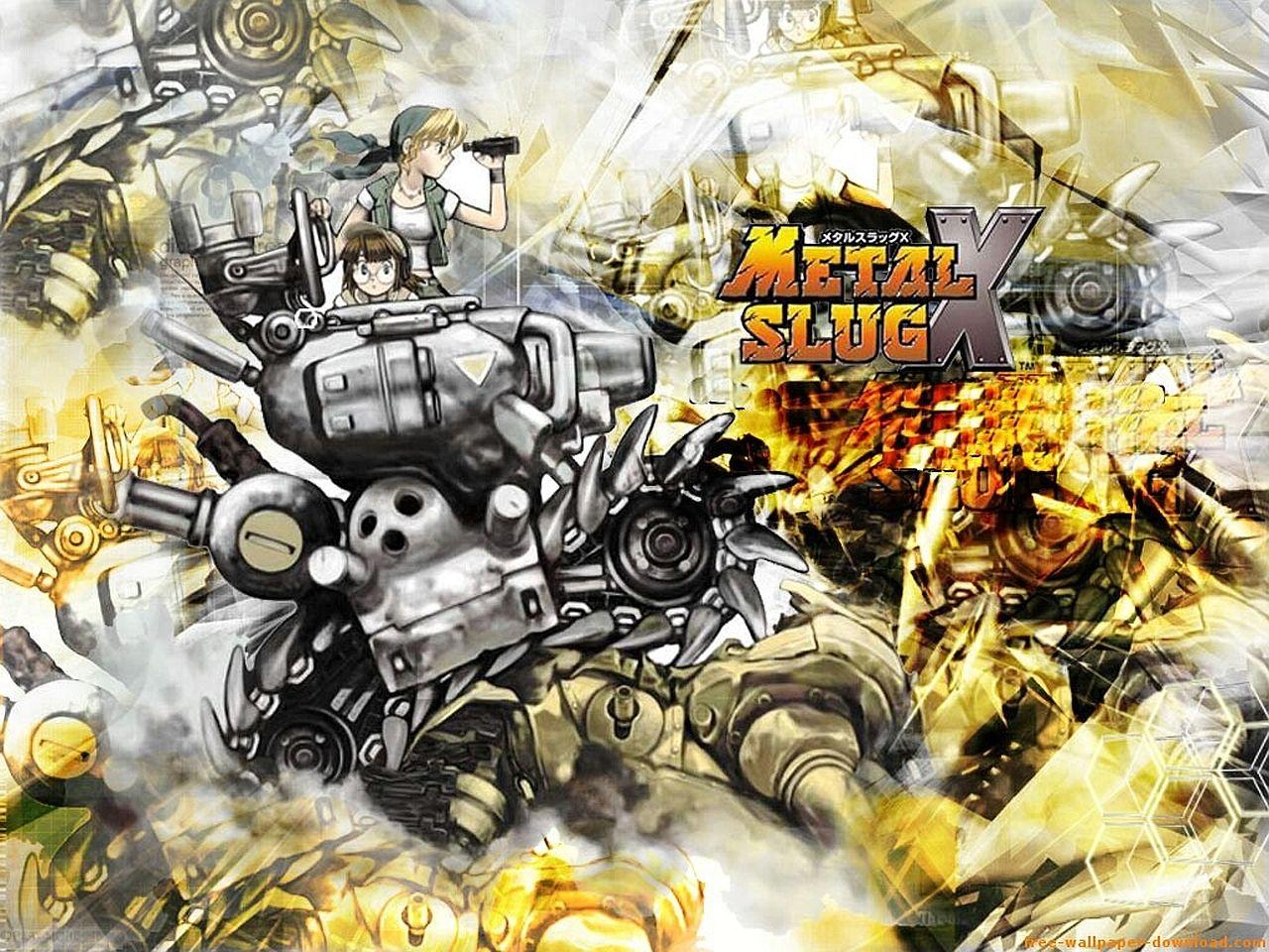 Metal Slug X Releasing On Steam Video Game News Pinterest