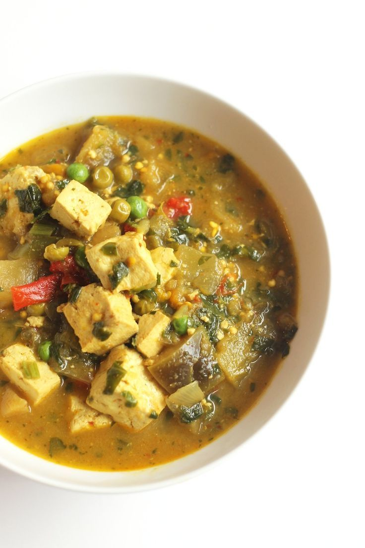 Crockpot Vegetable Curry With Tofu
