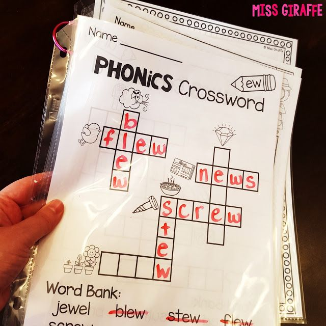 Put phonics worksheets in sheet protectors to reuse with dry erase ...
