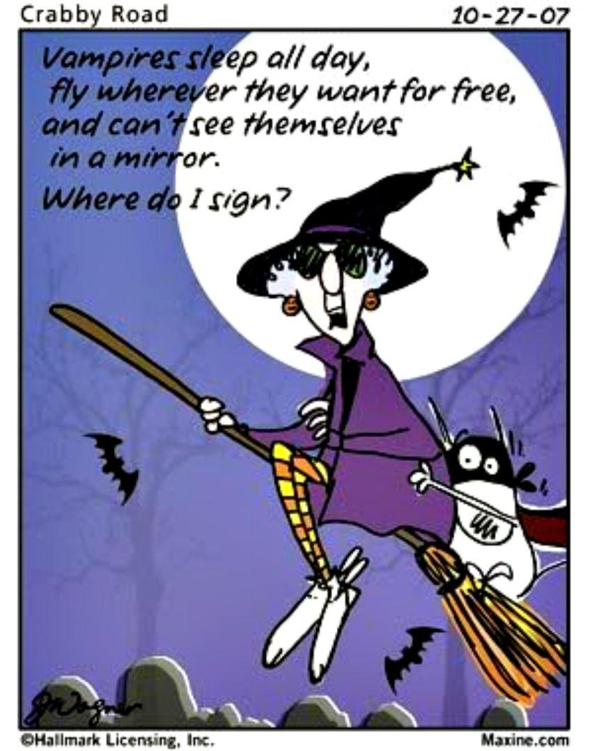 Sign In Or Create Account Together With Maxine Halloween Jokes Halloween Funny Halloween Cartoons