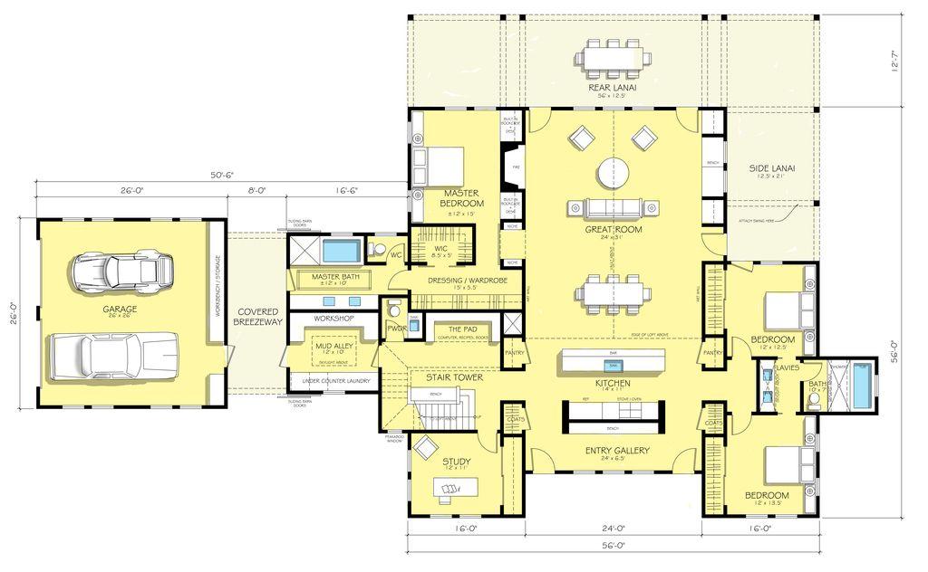10 best modern farmhouse floor plans that won people choice award farmhouse floorplans