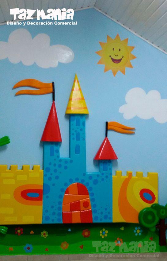 Pin de tazmania dise o y decoraci n comercial en - Decoracion de interiores infantil ...