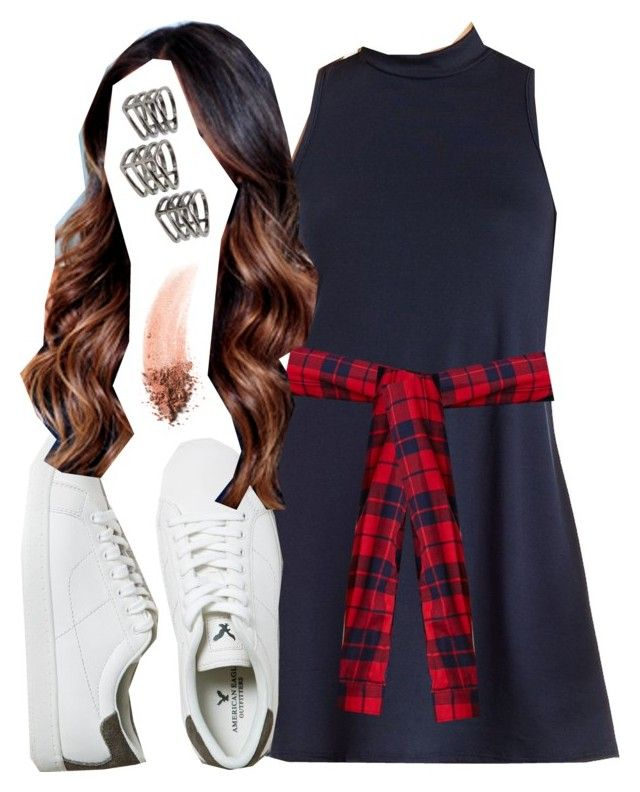 """""""Emily Fields inspired outfit"""" by liarsstyle ❤ liked on Polyvore featuring Charlotte Russe, Forever 21, American Eagle Outfitters, MANGO, NARS Cosmetics, school, weekend, college, ss and senior"""