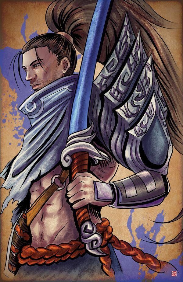 League of Legends - Yasuo by TyrineCarver.deviantart.com on @DeviantArt