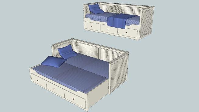 Ikea Hemnes Bed 3d Warehouse Ikea Hemnes Bed Ikea Hemnes Bed