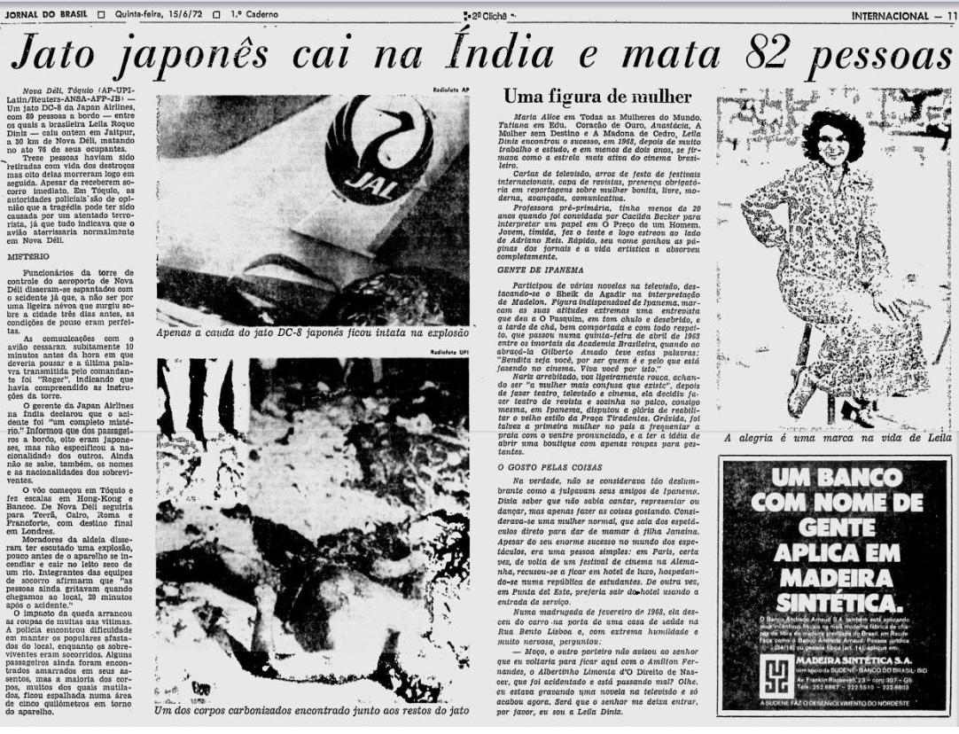 Leila Diniz - Morte na Índia