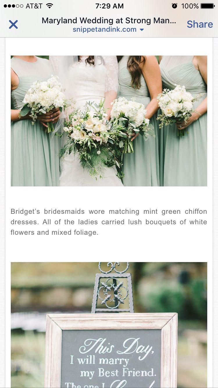 Makeup with mint green dress  Bouquet  Bride Stuff dress hair makeup bouquet  Pinterest