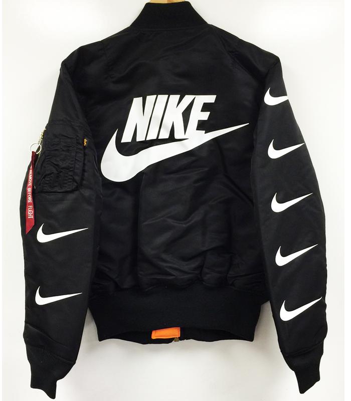 Nike MA 1 Bomber Jacket   여성 패션, 패션, 나이키