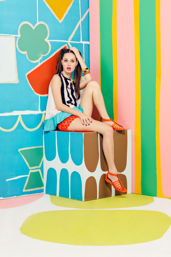 Laffy Taffy by Julia Galdo, via Behance