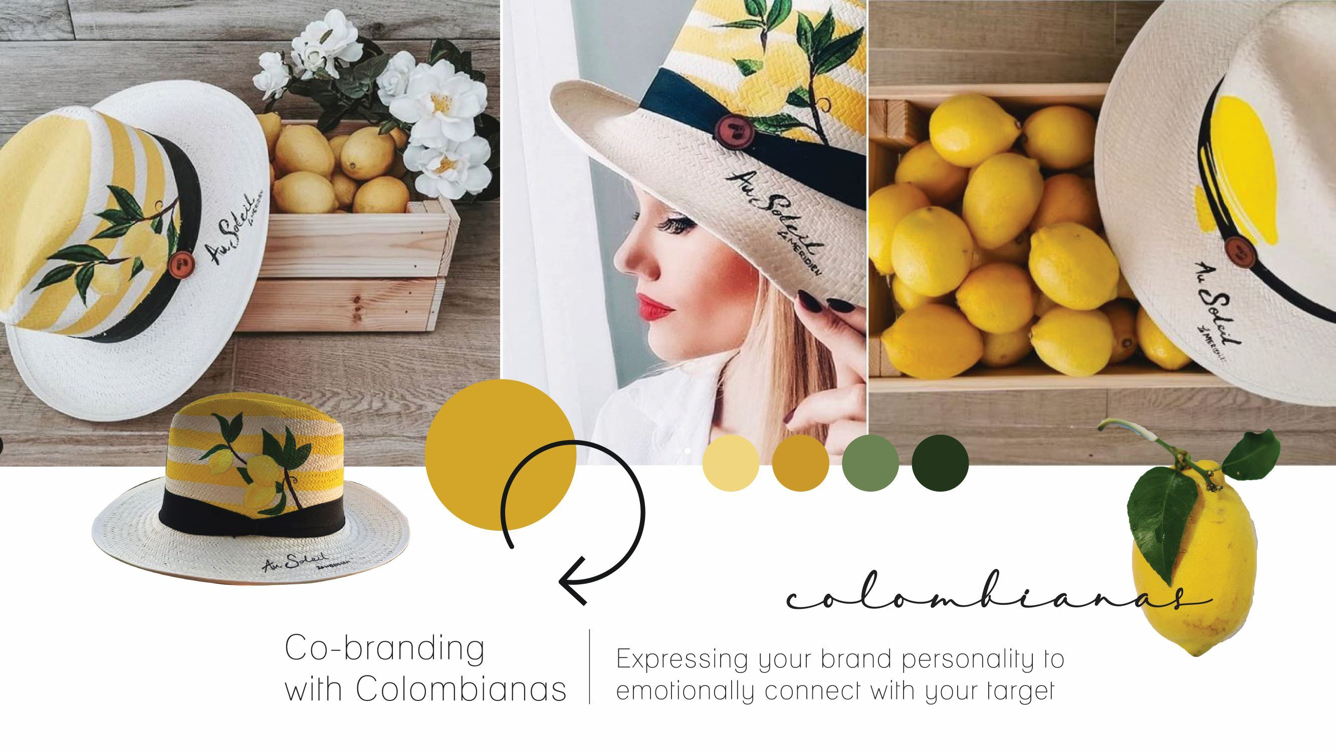 Co-branding with Colombianas