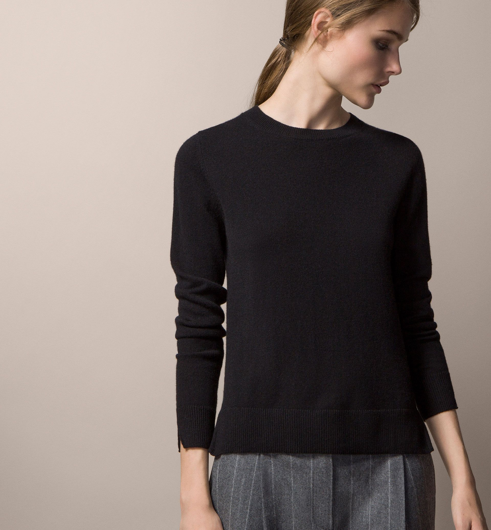 100% CASHMERE SWEATER - Wardrobe Essentials - WOMEN - United ...