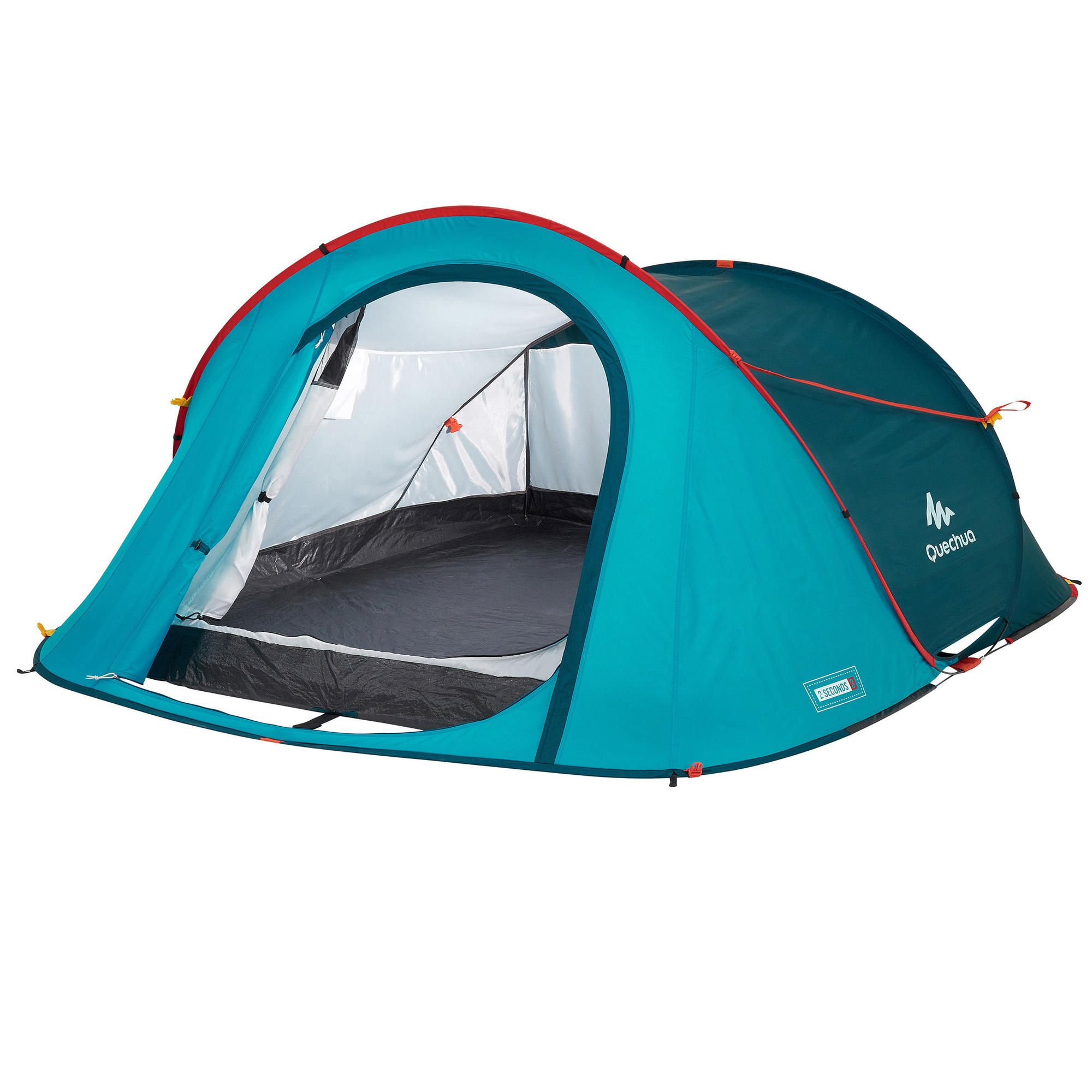 Quechua 2 Second Waterproof Camping Tent 3 Person Backpacking Tent Pop Up Camping Tent Tent